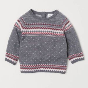 H&M Jacquard-knit Sweater | 1½-2Y